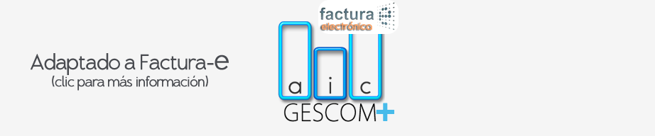 (Clic +Info Factura-e) Software Empresarial adaptada a Factura-e